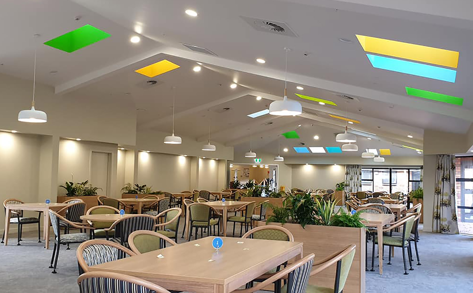 colourcraft interior hall dining room