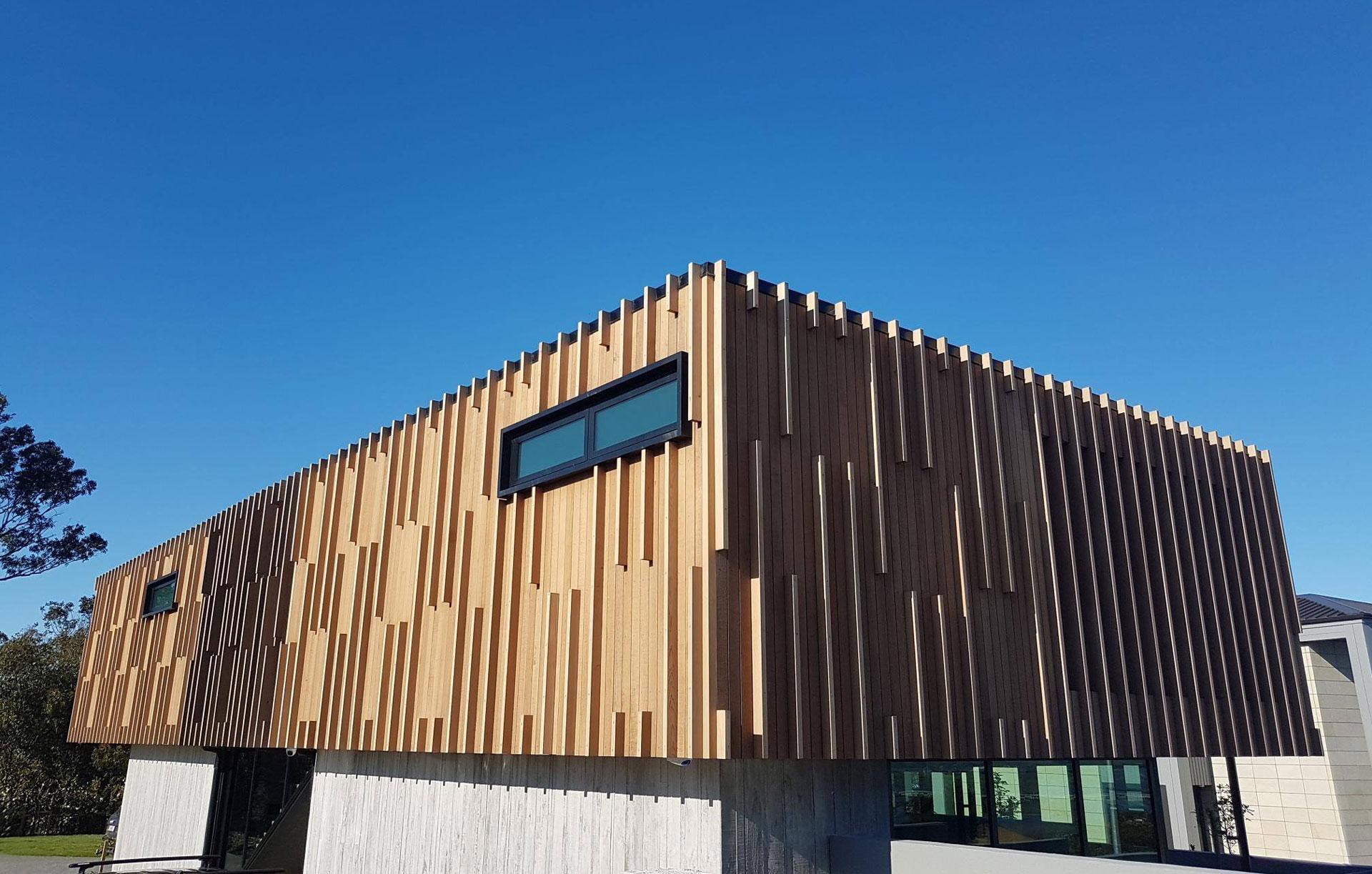 colourcraft timber clad house