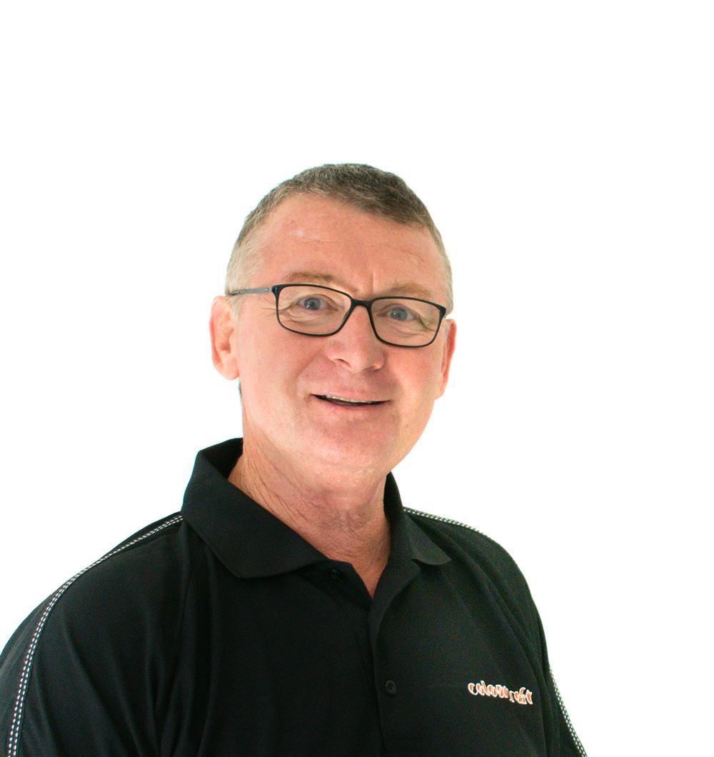 Peter Gerbes Managing Director Colourcraft